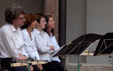 2007. Prima del Concerto con brani di Ligeti. Svizzera