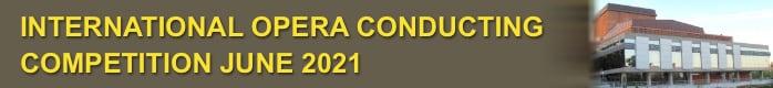BLUE DANUBE / BELA BARTOK INTERNATIONAL  OPERA CONDUCTING COMPETITION 2021 (8th Edition)